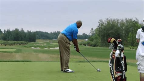 golf swing gif what s worse charles barkley s belt or his golf swing