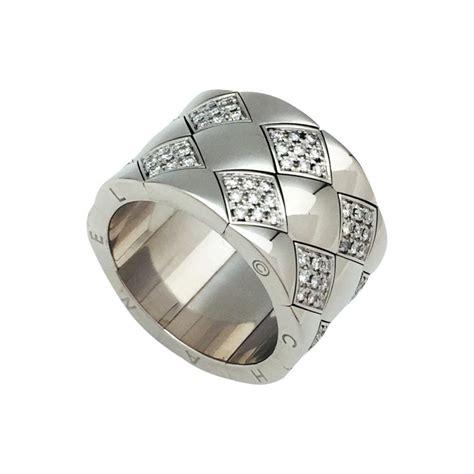 Modele De Bague bague chanel mod 232 le quot matelass 233 quot en or blanc et diamants 54