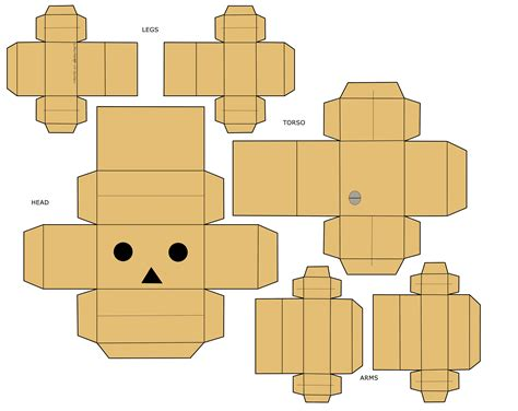 printable paper robot template danboard papercraft wallpaper 4276x3396 61444