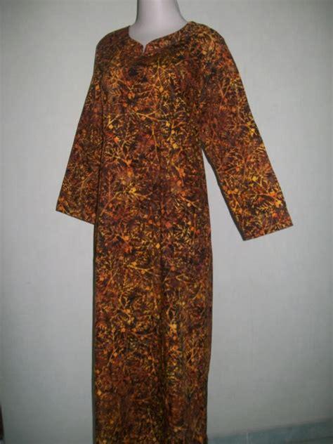 Gamis Batik Wayang Gunungan trend gamis batik modern gamis batik cap asli tradisional gm022 toko batik 2018