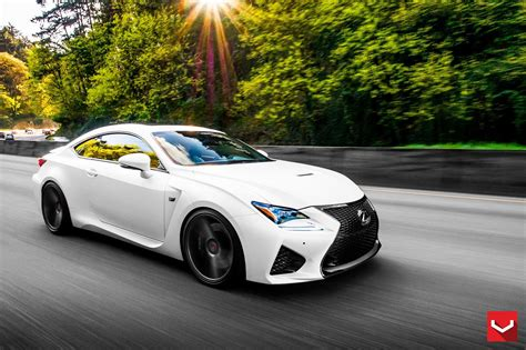 lexus rcf wallpaper vossen wheels lexus rcf tuning cars black wallpaper