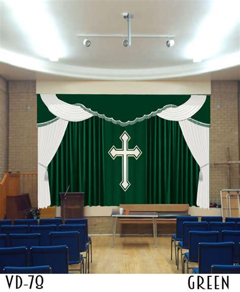 church curtains  drapes altar decoration  sale