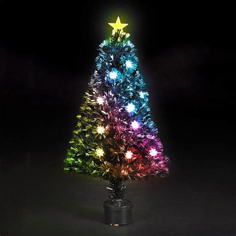 small fibre optic christmas tree shop perth buy 120cm 4ft fibre optic multicoloured clematis tree from our trees range