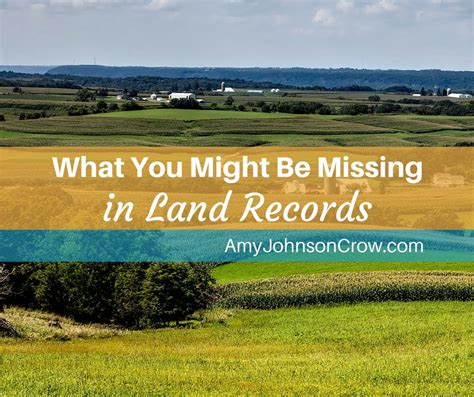 Land Records What You Might Be Missing In Land Records Johnson