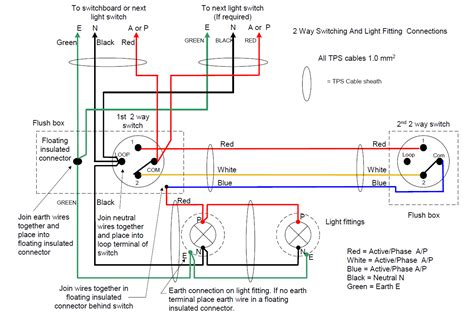 two way switch wiring diagram nz efcaviation