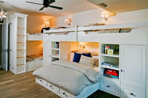 bunk bed ceiling fan twin over full bunk bed with stairs kids beach with area