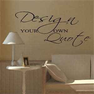 custom wall stickers uk large design your own custom wall sticker quote bespoke