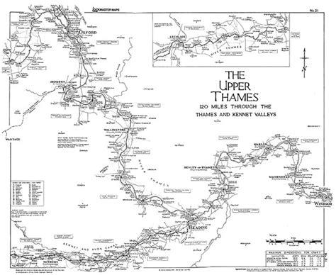 upper thames river map lockmaster maps list