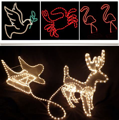 led motif light 3d motif light outdoor christmas light