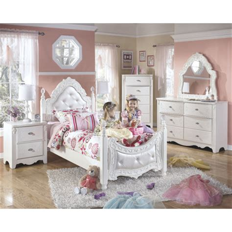 ashley exquisite bedroom set exquisite kids four poster bedroom collection wayfair