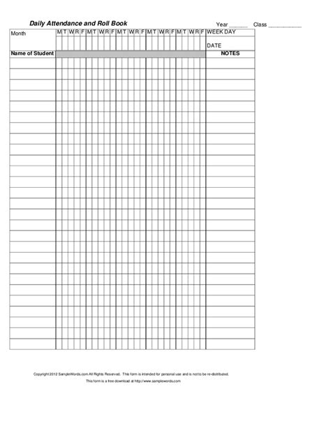teachers attendance and roll book s attendance and roll book hashdoc