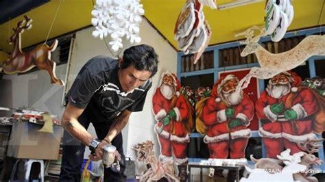 Lu Dekorasi Natal aksesori natal laku keras