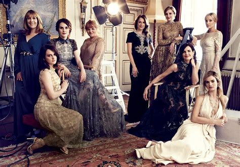 cast of the woman what to book the downton abbey charity ball