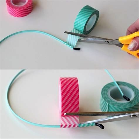 washi tape crafts simple washi tape headband