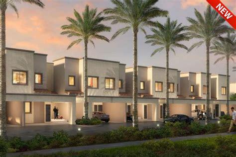 Cluster Home Floor Plans by Amaranta At Villanova New Townhouses By Dubai Properties