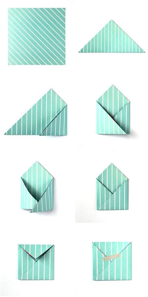 How To Make A Paper Letter Envelope - 25 best ideas about easy origami on diy paper