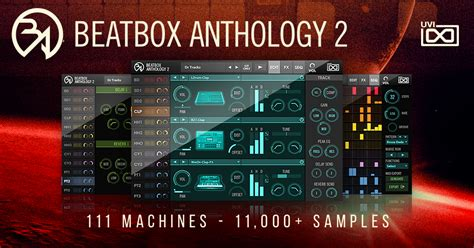pattern beatbox master uvi releases beatbox anthology 2 all in one with classic