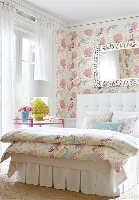 Thibaut Designs by Molokini Wallpaper In Pink From The Thibaut Biscayne