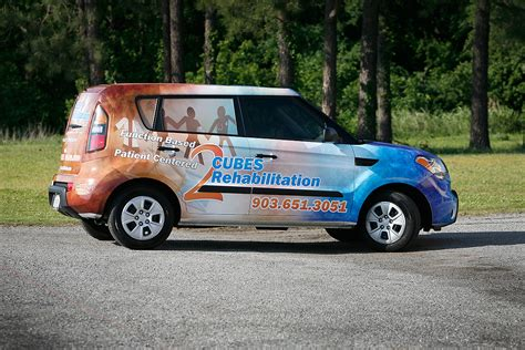 cube cars kia 2 cubes rehabilitation kia soul car wrap city