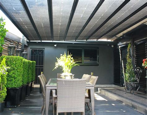 exterior blinds and awnings patios alfresco roof awnings exterior sunscreens