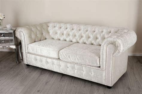 velvet chesterfield sofa empire arctic silver crushed velvet chesterfields abreo