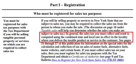 Sales Tax Lookup By Address How Sellers Should Collect Sales Tax In New York