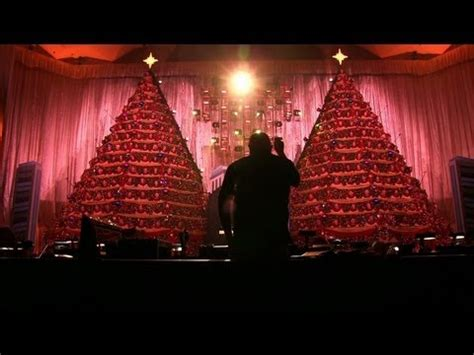 the singing christmas trees at first baptist church