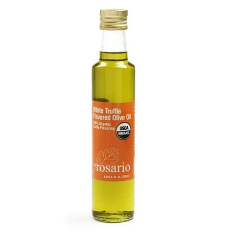 Rosario White infused oils buy oils at igourmet