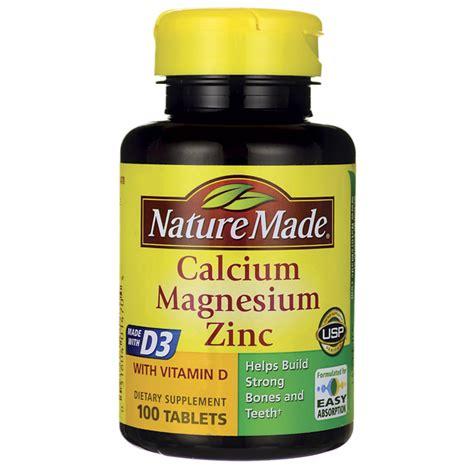 Gnc S Daily Calcium Support 90 Tablet nature made calcium magnesium zinc with vitamin d 100 tabs