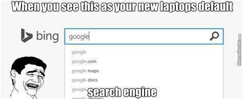 Meme Search Engine - i even use mc more as a search engine than bing by