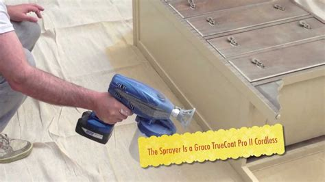 chalk paint sprayer graco spraying sloan chalk paint