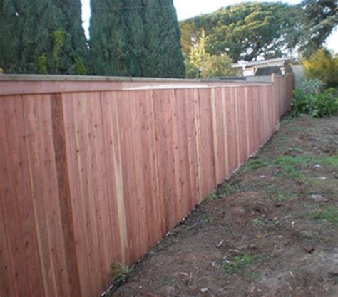 wood fencing orange county ca cedar redwood fencing