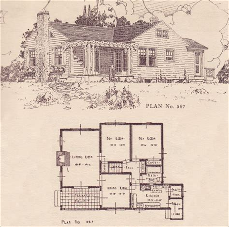 Modern Colonial Cottage 1924 House Plans The 1940 Style House Plans