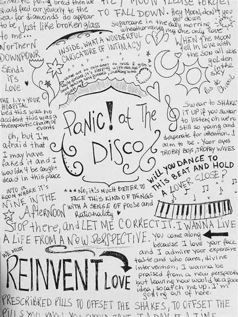 Panic At The Disco Cabin Songs by Panic At The Disco Lyrics Panic At The Disco