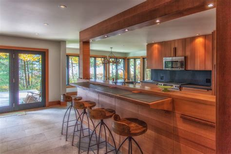 Cedar Kitchen Cabinets by Cedar Kitchen Rustic Kitchen Toronto By Ed
