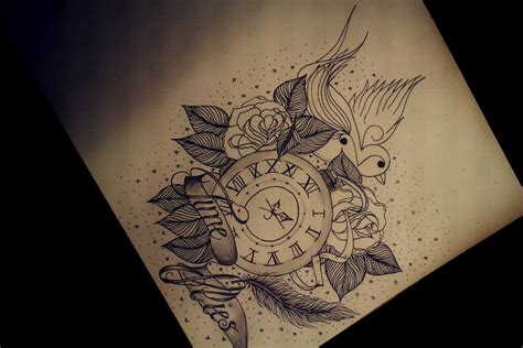 time flies tattoo time flies quotes image quotes at hippoquotes