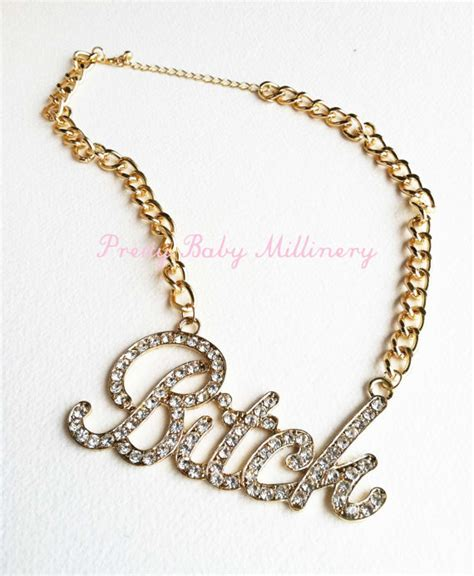 hip hop necklace necklace hip hop by prettybabybridal