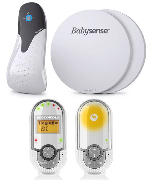 Baby Breathing Monitor For Crib Babysense 5 Breathing Monitor And Motorola Mbp16 Dual Baby Monitor Bundle Kit Ebay