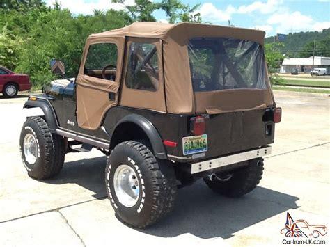 jeep 1980 cj5 1980 jeep cj5 golden eagle