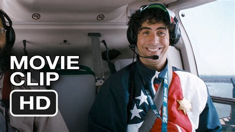 sacha baron cohen new movie the dictator extended movie clip sacha baron cohen
