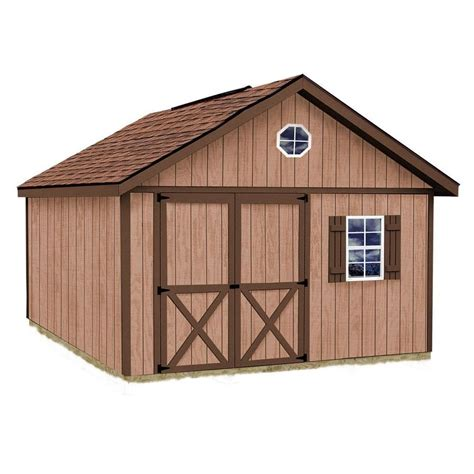 shed installation shop best barns common 12 ft x 12 ft interior