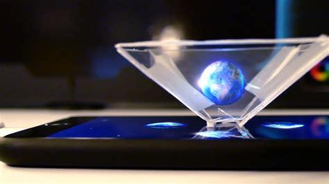Diy Holographic Phone diy smartphone 3d hologram tutorial
