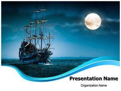Pirate Ship Powerpoint Template Is One Of The Best Powerpoint Templates By Editabletemplates Com Pirate Powerpoint Template