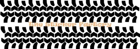 road tire tracks tread vinyl decal wall  thestickerfactory mancave decor wall decals