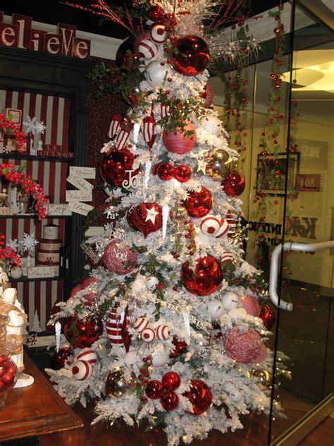 flocked christmas tree  oversized ornaments flocked christmas trees white christmas