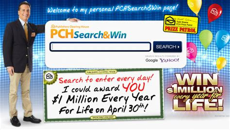 search win with todd sloane s pchsearch win page pch search win blog - Pch Search Winners