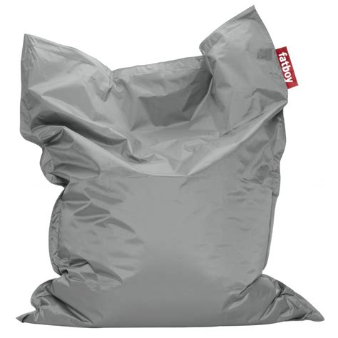 fatboy bean bag uk fatboy original bean bag silver comfort seating
