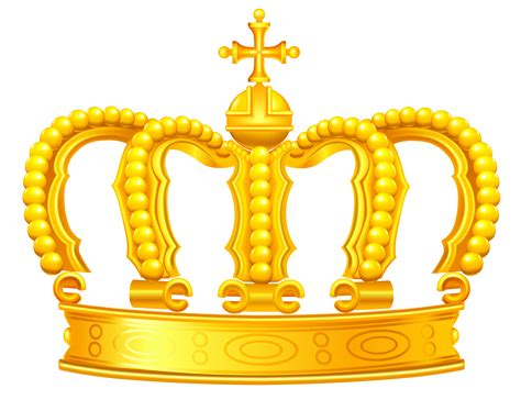 gold crown king clipart