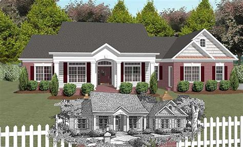 casalone ridge ranch home southern country style home with plan w2031ga southern country style design e