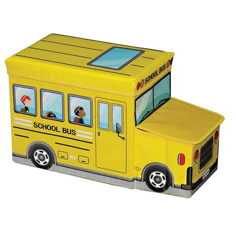 sit and store sit n store transport yellow bus